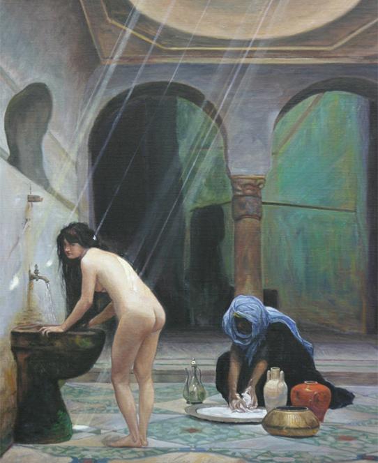 La  FEMME  dans  l' ART - Page 20 Bainmaure